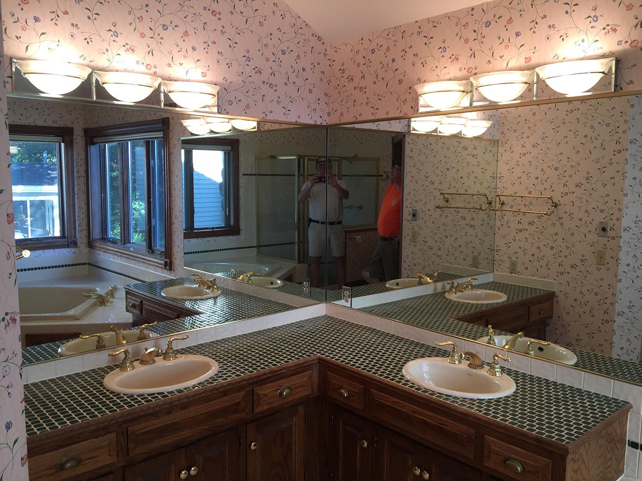 Apple Valley Bathroom Remodel: BEFORE