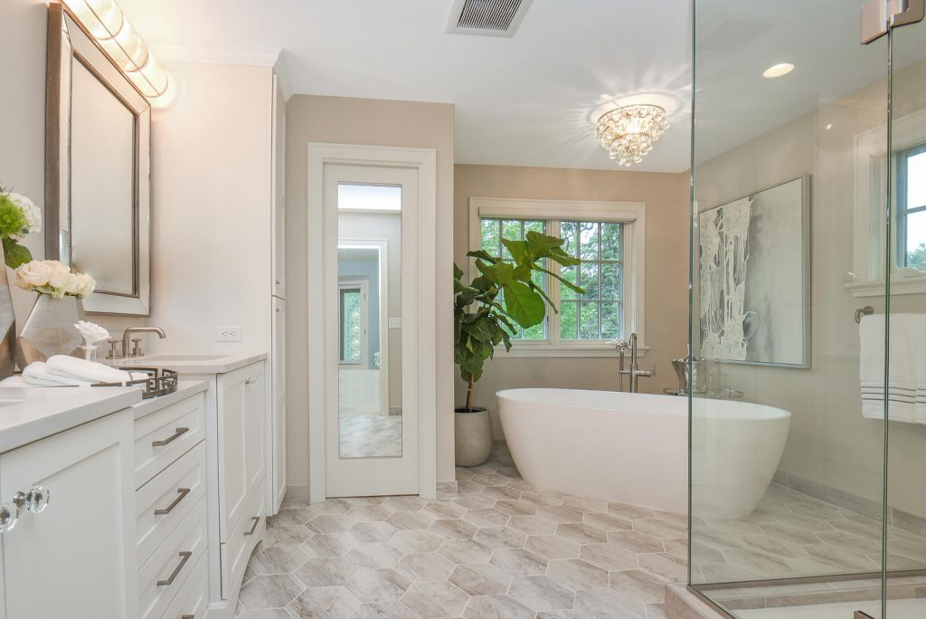 remodeled bathroom with interior design