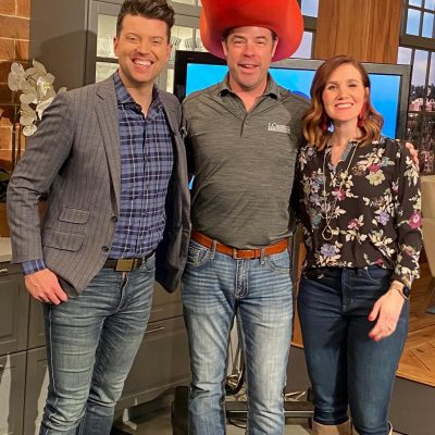J Carsten Remodeling Owner Jason Myrlie with Twin Cities Live Hosts Steve and Kelli